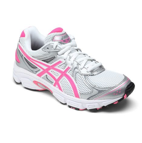 Asics Gel Galaxy 6 GS (ASIX311) from Shoes & Sox.  A great entry level running shoe for the active girl. Features a sockliner moulded to the shape of the foot which can be removed to accommodate orthotics.