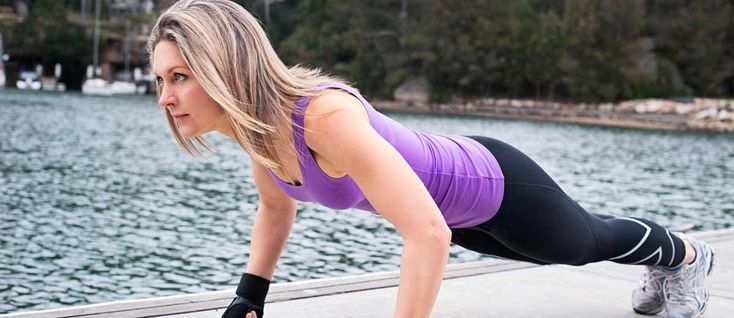 How To Do A Plank Jack Exercise - Step by step guide on how to perform the plank jack exercise correctly and safely, from 30 Day Fitness Challenges.