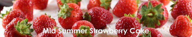 Strawberries, marinated with elderflower parfait (Marinerade jordgubbar med flöderblomsparfait)