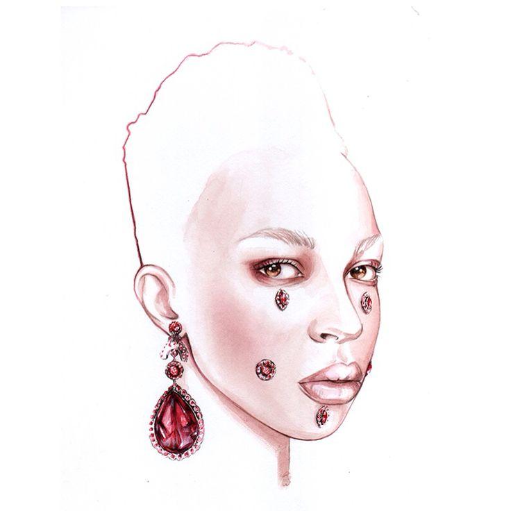 Fashion illustration Part II on Behance