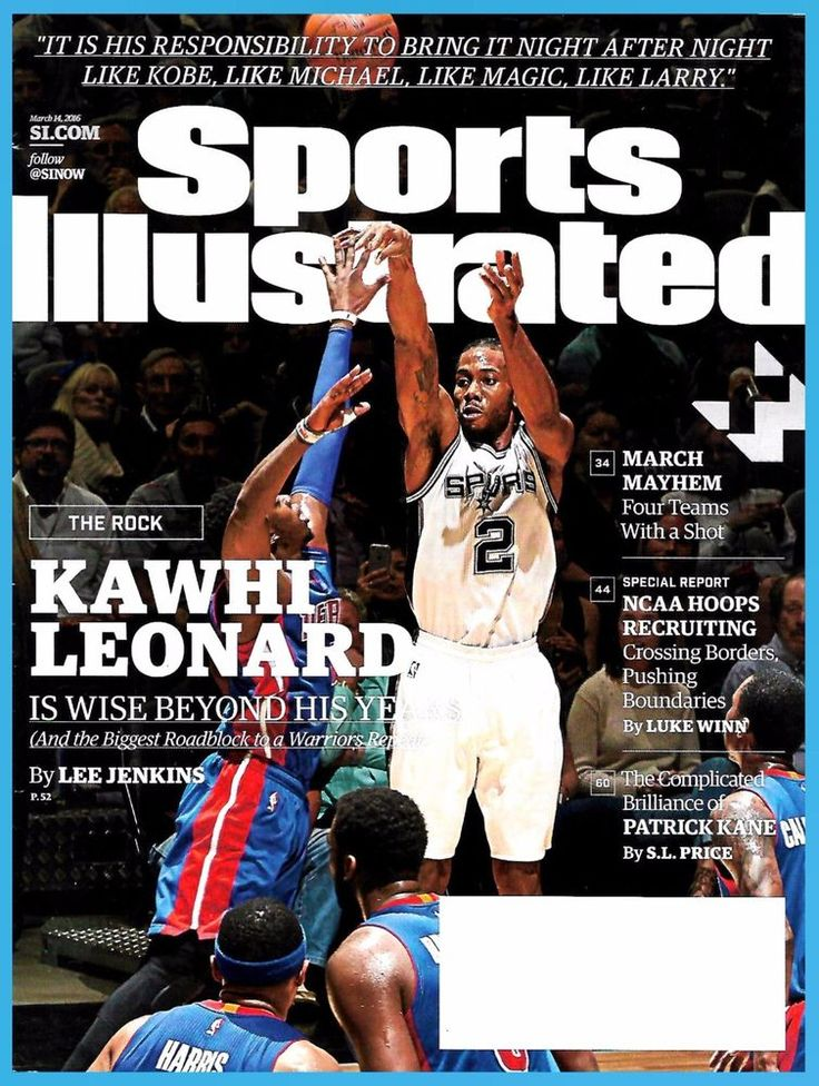 Sports Illustrated March 14, 2016 Kawhi Leonard Cover