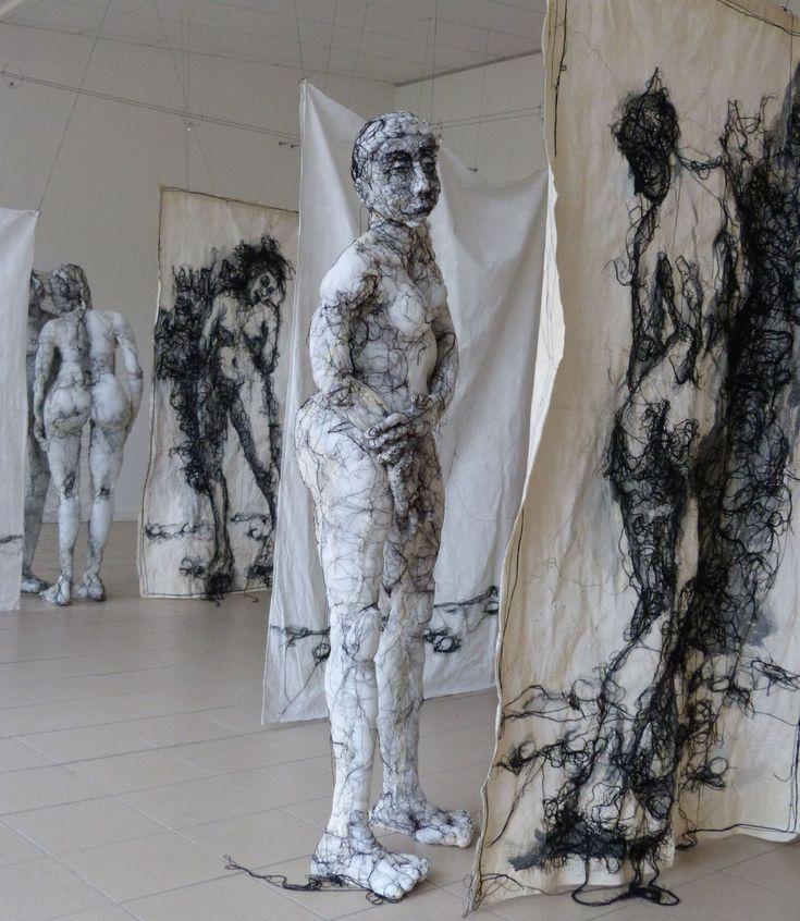Anne Bothuon - Sculpture Textile art -Blog Graphiste / Sculptures, photos, Ver & Vie….