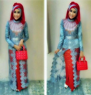 Kebaya Wisuda Muslim 2015