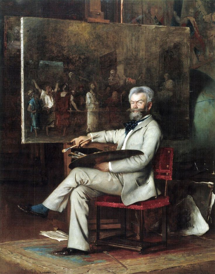 Munkácsy Mihály (Lieb Mihály Leó)portréja.jpg (1604×2048)
