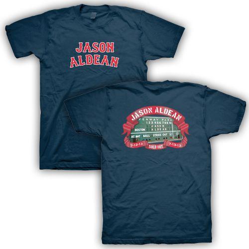 EXCLUSIVE Fenway Park Concert T-Shirt » Store » Jason Aldean