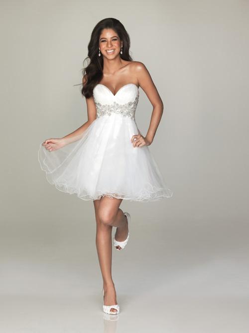 Reception Bachelorette Party Dress Blushing Bride