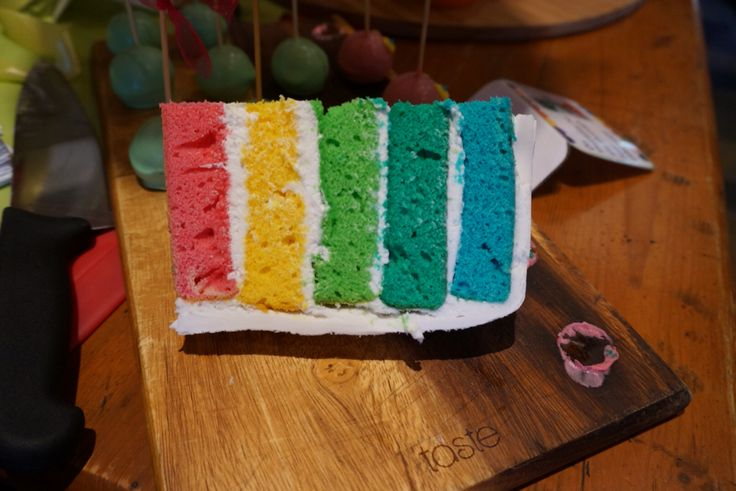 Rainbow Cake. Hungry Caterpillar Party. @shanschlotts
