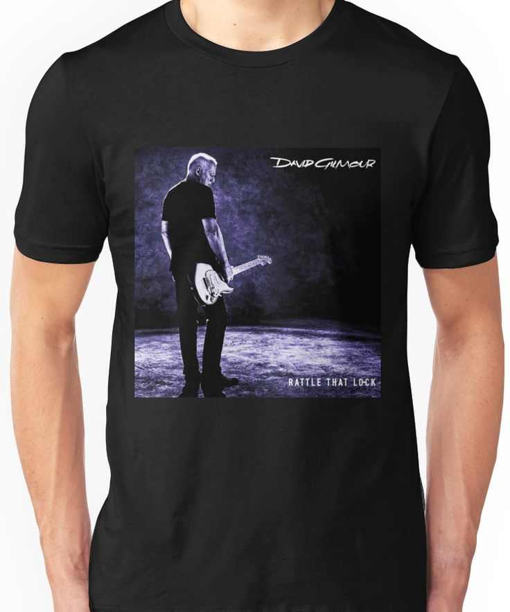 DAVID GILMOUR RATTLE LOCK TOUR 2016 Unisex T-Shirt