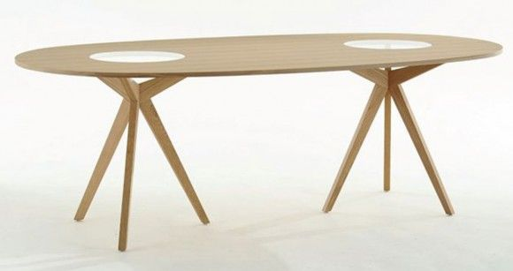motley oval dining table designs