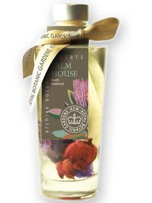 Palm House Bath Oil -  luxurious bath essence to leave skin silky.