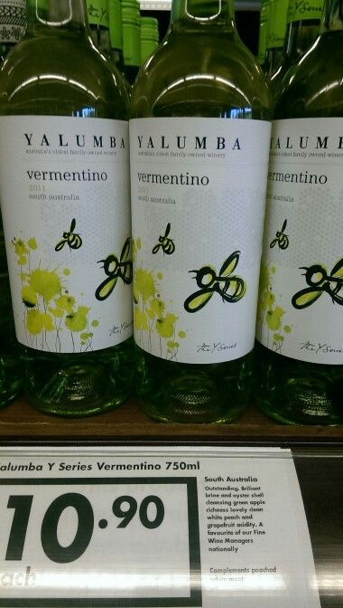 I know... I know another Yalumba Y series wine... But seriously there arent many of these that I don't enjoy. The Vermentino is no exception to that! A cracking little $11 wine that is magnificent with food