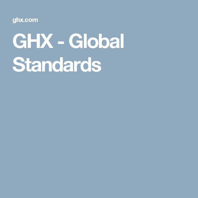 GHX - Global Standards
