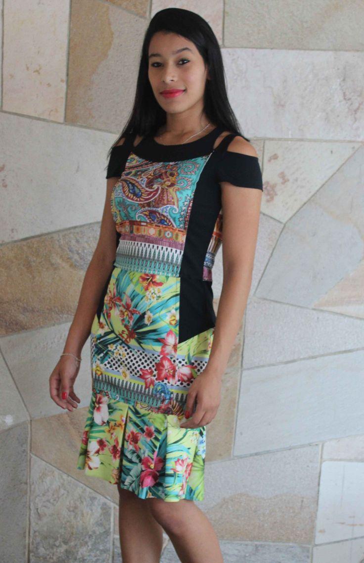 Vestido Scalon Paola 241284