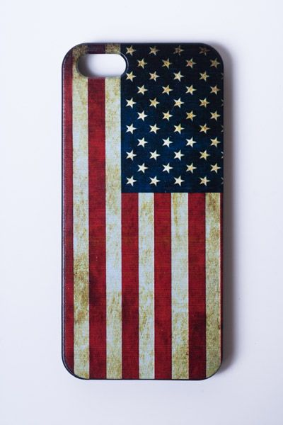 American Flag Phone Case (iPhone 5) $10.00