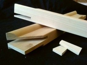 25mm Deep Professional Extra Wide Stretcher Bar (Cm) - Harris Moore Canvases