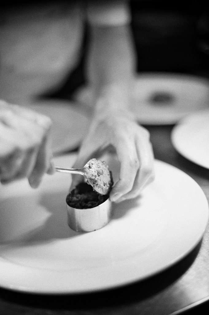 Chef at work- Congham Hall