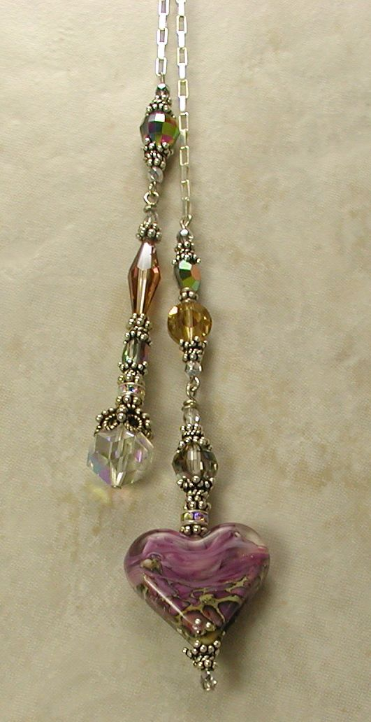 Orchid Love! Lariat Necklace