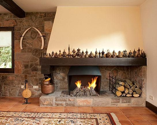 M s de 25 ideas incre bles sobre chimeneas r sticas en for Decoracion de casas clasicas