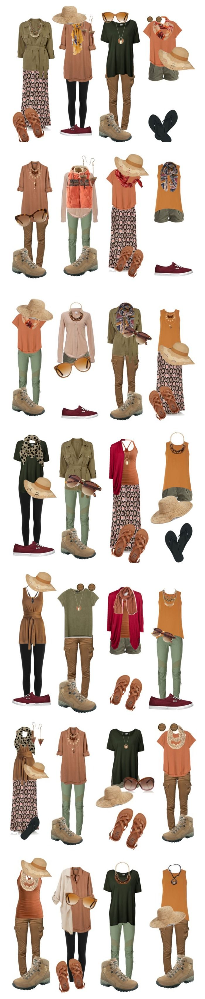 Safari: What to wear on a 4 week trip to Uganda, Kenia and Tanzania