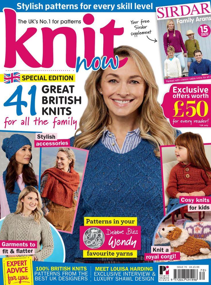 Knit Now № 70 2017 - 轻描淡写 - 轻描淡写