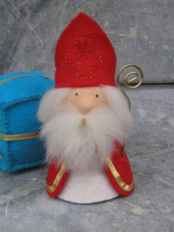 Felt Sinterklaas