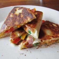 Quesadilla's, een lekker lunchgerecht of hapje voor bij de borrel