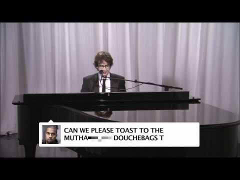 Josh Groban sings Kanye West's tweets.