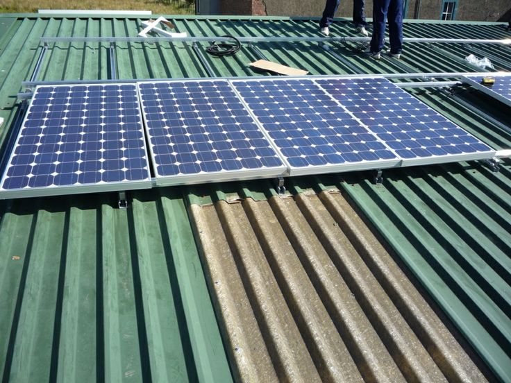 8kW of PV:  a visit during Green Open Homes on March 22nd in Low Moor near Wigton, Cumbria
