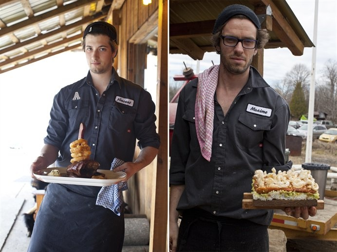 Montreal Chef Martin Picard's Remote Sugar Shack Serves Up Maple Syrup-Enriched Dishes