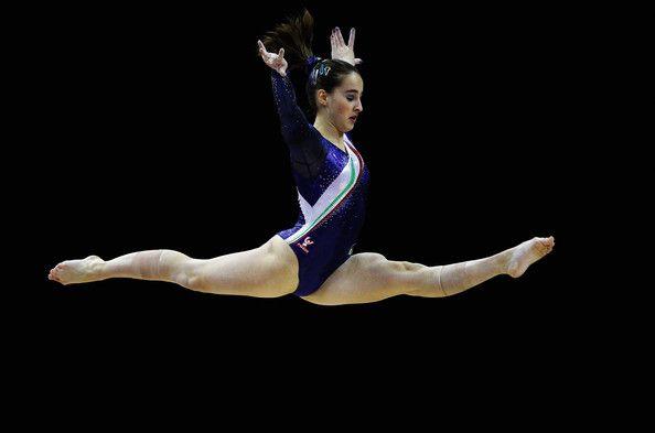 FIG Artistic Gymnastics Olympic Qualification - LOCOG Test Event for London 2012: Day Two - Carlotta Ferlito