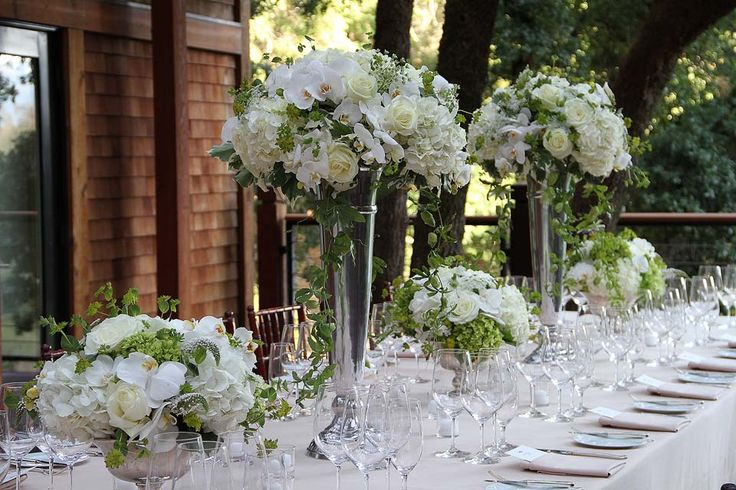 Best images about tall wedding centerpiece flowers on