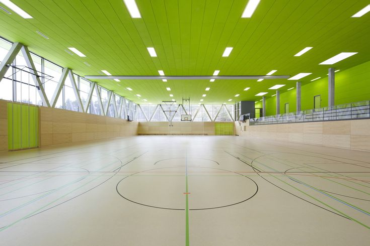 Turnen in der Senke - Sporthalle bei Oranienburg