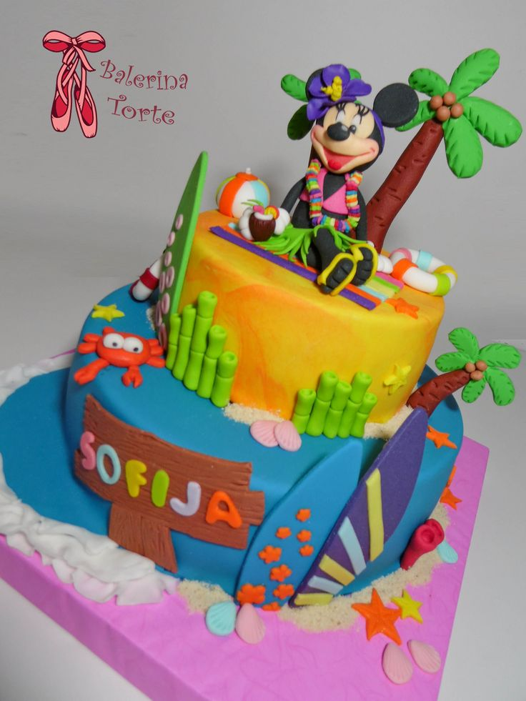 https://flic.kr/p/xjbK8Y | Minnie Mouse on the Beach Cake – Mini Maus torta – Mini Maus na plazi by Balerina Torte Jagodina | Minnie Mouse on the Beach Cake – Mini Maus torta – Mini Maus na plazi by Balerina Torte Jagodina