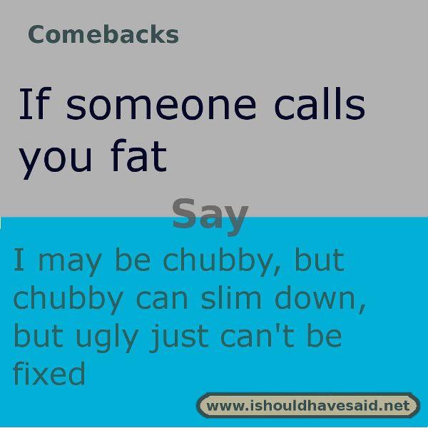 Fat Joke Comebacks 91