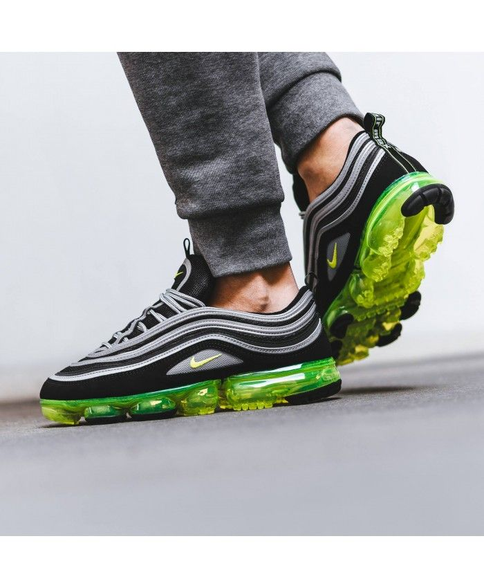 a681add80268e Nike Air Max Vapormax 97 Mens Japan Black Volt Trainers