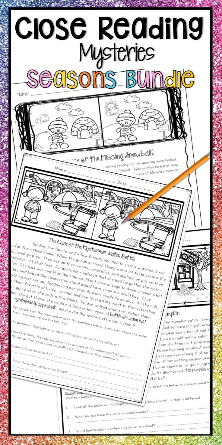 - Close Reading Passages Mysteries For Comprehension Practice