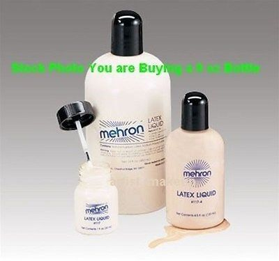 Mehron Liquid Latex Clear Costume Make Up 9 OZ 117