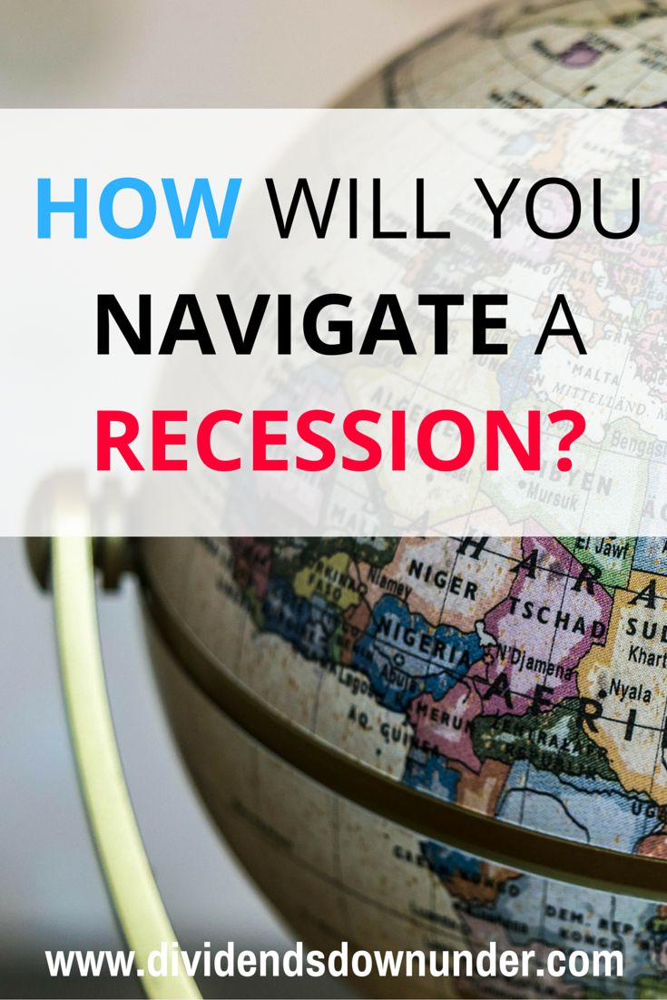 There's a theory based on historical averages that a recession happens every 10 or so years. So how will you navigate a recession when the next one comes?.. Australian Financial Blog https://dividendsdownunder.com