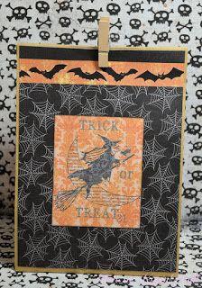 Karins-kortemakeri: Halloween