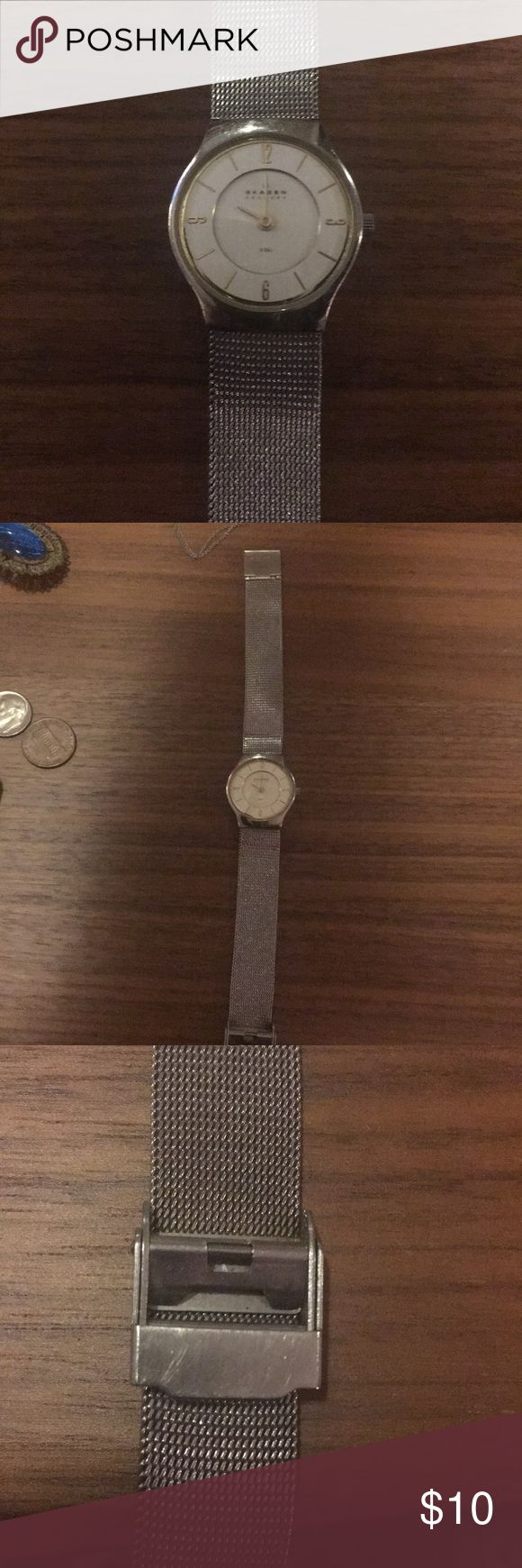 how to change skagen watch battery