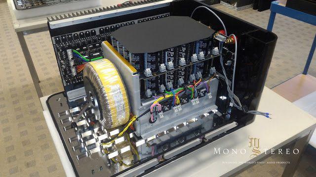 Mono and Stereo High-End Audio Magazine: Analog Domain 4kW Apollo monoblock amplifier innards