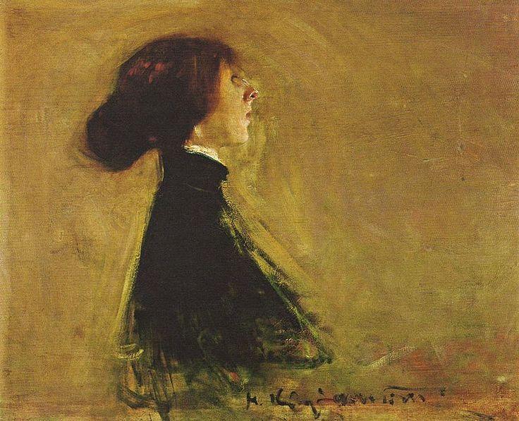 Konrad Krzyżanowski, Portret Bronisławy Ostrowskiej