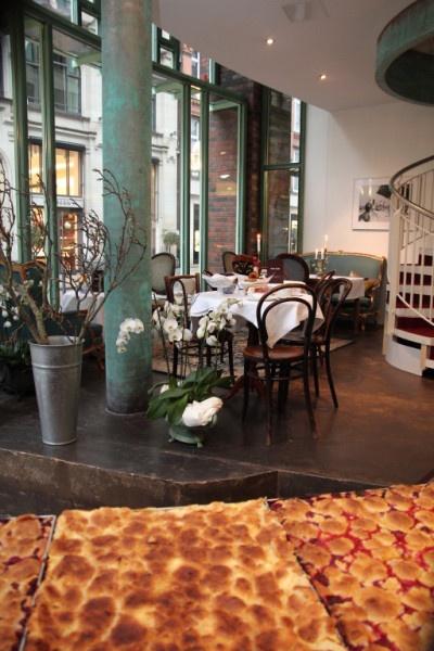 Petit Café Hamburg...has the best moistly crumble cakes ever. It's worth it
