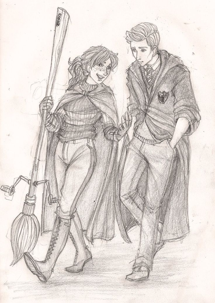 Rose and Scorpius by Catching-Smoke.deviantart.com