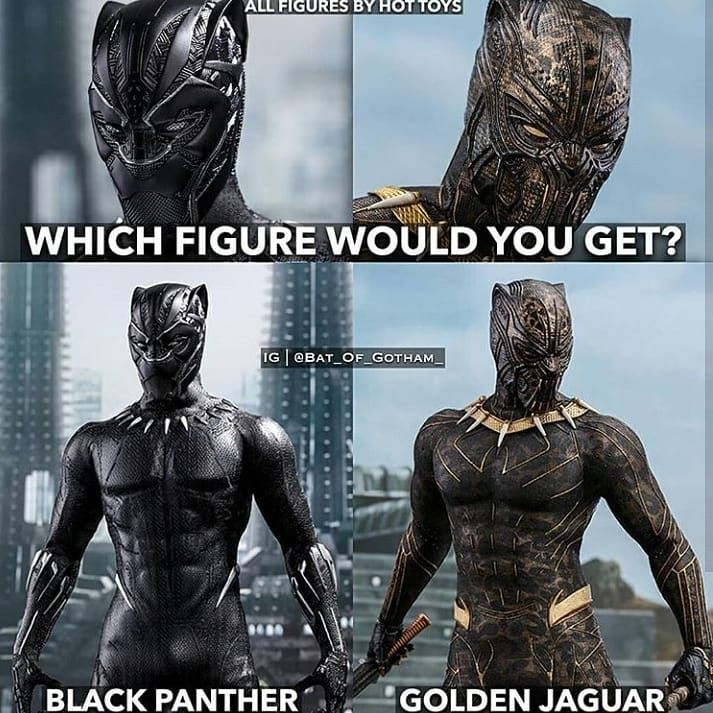 Which ? I choose the golden jaguar  - follow @marvel_dc_p - -  #marvel #mcu #marvelcinematicuniverse #blackpanther #ironman #michaelbjordan #chadwickboseman #thor #wakanda #wakandaforever #goldenjaguar #infinitywar #hulk #avengers #captainamerica #captainmarvel #dc #justiceleague #wonderwoman #villain #vibranium