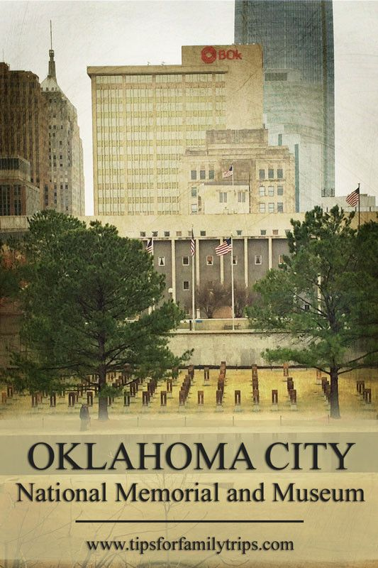 Tips for visiting the Oklahoma City National Memorial and Museum as a family | tipsforfamilytrips.com