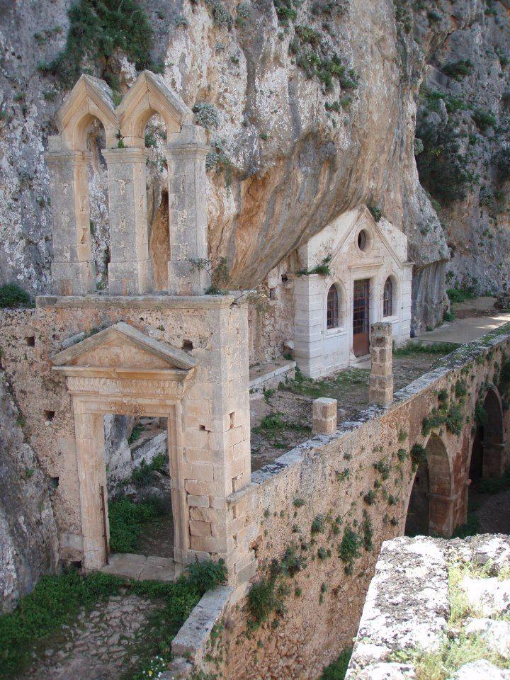 Katholiko monastery of Chania (near the northern shores of Cape Akrotiri) Chania Crete by Nikos