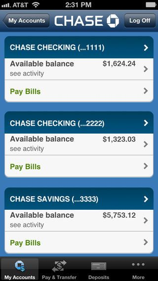 Chase Mobile (SM) By JPMorgan Chase & Co.