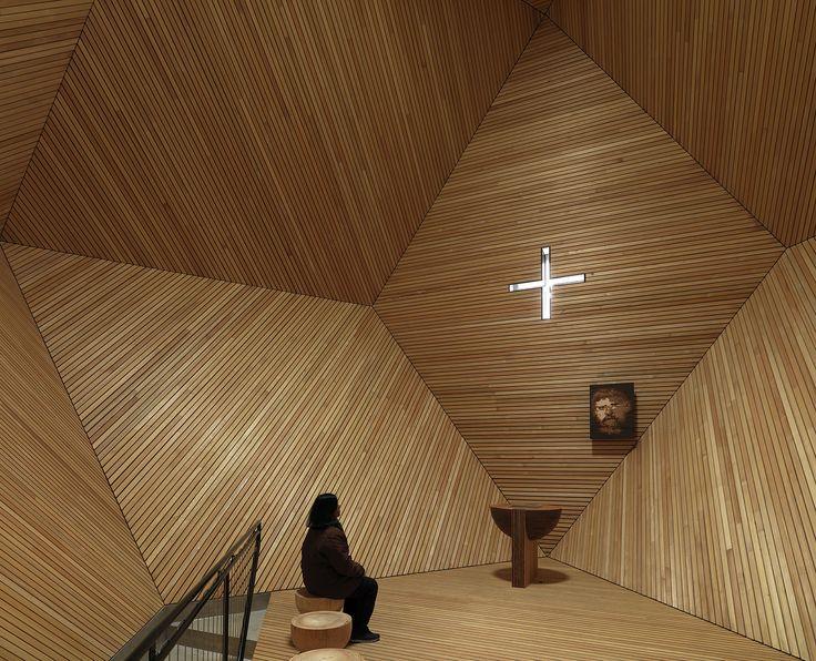 Cappella Granato in Zillertal, Austria by  Mario Botta. #faith #rituals #AMVB