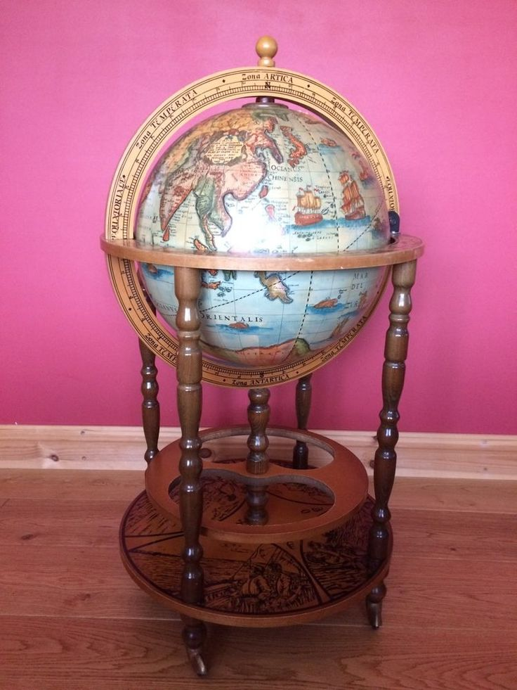 This Drinks Globe has been in my family for as long as I can remember so must be well over 20 years old. Unfortunately selling it as do not have the space for it since moving. It has the odd wear and tear mark as can be expected for the age, hence lots of photos, but If you need any further information or would like more pictures please feel free to send me a message. Collection only from Wymondham, Norfolk. | eBay!